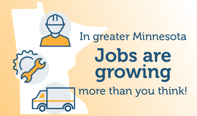 Jobs are growing in greater MN