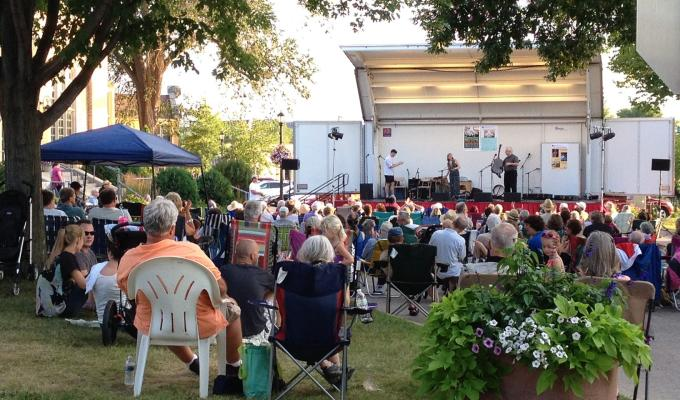 Northfield concert in the park