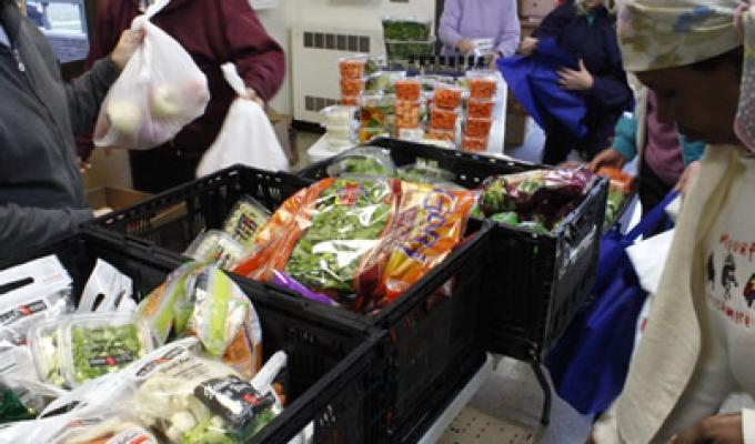 Second Harvest heartland food distribution