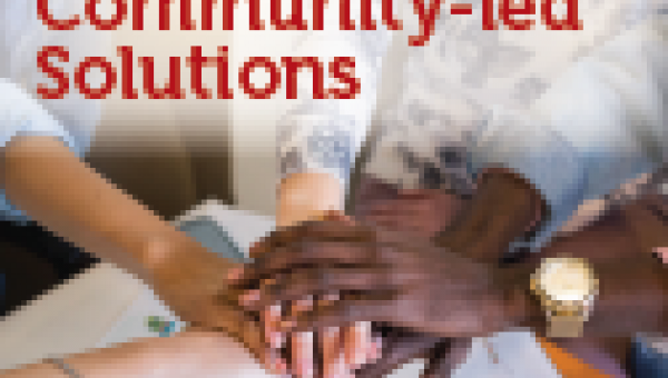 Community-led solutions