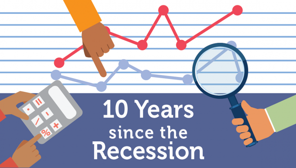 Its' been a decade since the Great Recession ended.