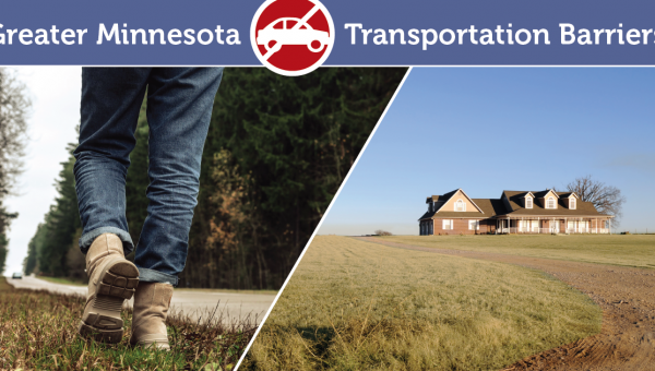 Transportation barriers in greater Minnesota