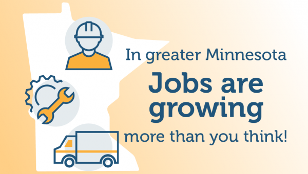 Jobs are growing in Minnesota